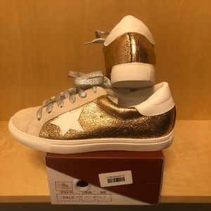 Rose Gold Sneakers. Brand new, never worn